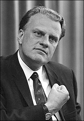 BILLY GRAHAM: Leading an end times revival without the gospel of Jesus Christ?