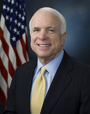 John McCain official photo portrait. (Photo credit: Wikipedia)