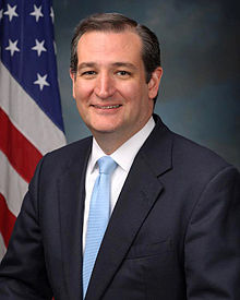 TED CRUZ: Latest U.S. politician to be born outside the USA.