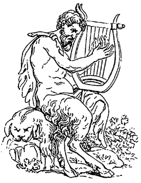 Satyr: Extreme party mongers from Greek mythology.