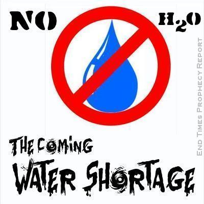 COMING WATER SHORTAGE: No life without water.