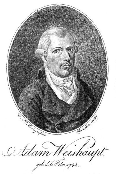 Johannes Adam Weishaupt: Front man for the Mystery of Iniquity
