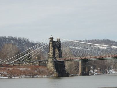 WHEELING SUSPENSION BRIDGE: 170 years old 1849-2014