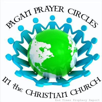 PAGAN PRAYER CIRCLES: Many Christian Churches pray in circles.  Is this Biblical?