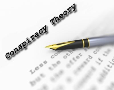 """CONSPIRACY THEORY: When someone has caught someone with their hand in the cookie jar, """"Conspiracy Theorist!"""" is one of the more useful things the thief might yell."""