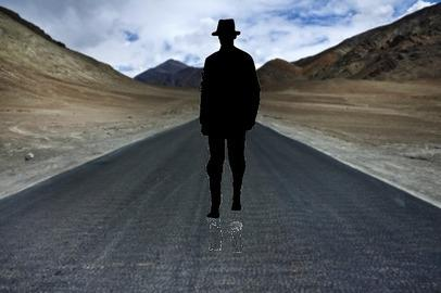THE CHRISTIAN: WALKING THE LONELY ROAD