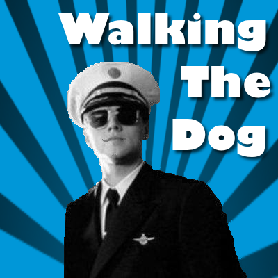WALKING THE DOG: As seen on the Internet and received in the email.