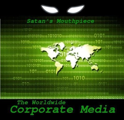 CORPORATE MEDIA: Organized Deception delivered to your home every day.