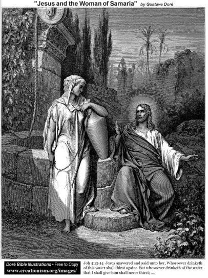 RECEIVING THE SAVIOR: Jesus and the Woman of Samaria