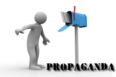 PROPAGANDA: A proper propaganda campaign means agitprop in the Media and in the Email, too.