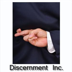 DISCERNMENT INC RECIPE:  Lots of rabbit trails and deception; not much gospel of Jesus Christ
