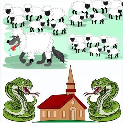 WISE AS SERPENTS: THE AMERICAN CHURCHES: Snakepits and Dens of Wolves