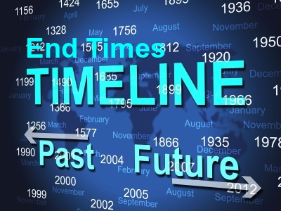 THE END TIMES: Throw away man-made time lines, calendars, charts, schedules.  Rely only on God's Word.