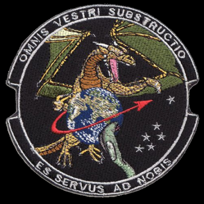 OCCULT MISSION: Allegiance to the dragon is common among military/intelligence space units.