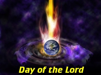 DAY OF THE LORD: Is fast approaching.
