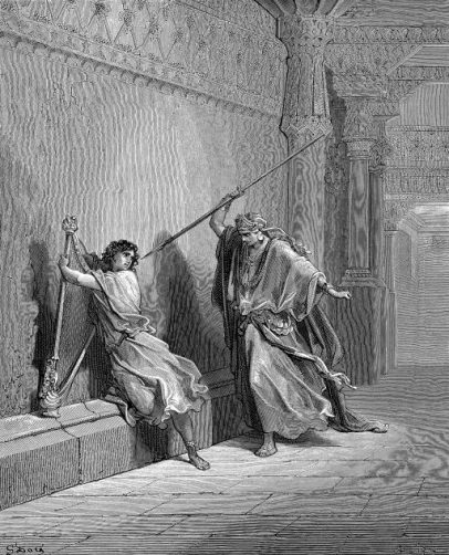 SAUL TRIES TO KILL DAVID: Just one of the trials where God demonstrated he did not forsake David.