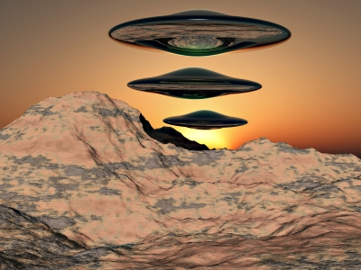 ALIENS FROM OUTER SPACE: ENTERTAINING END TIMES FABLES
