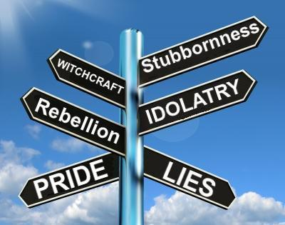 Stubbornness, idolatry, pride: man's end times deception