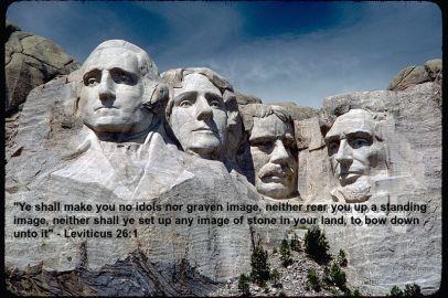 America's many forbidden idols