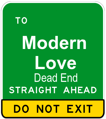 Modern Love which Isn't