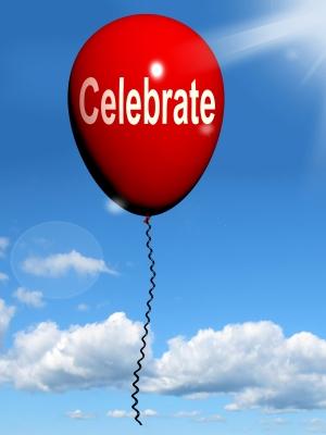birthday celebration balloon