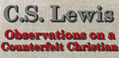 CS LEWIS: Observations