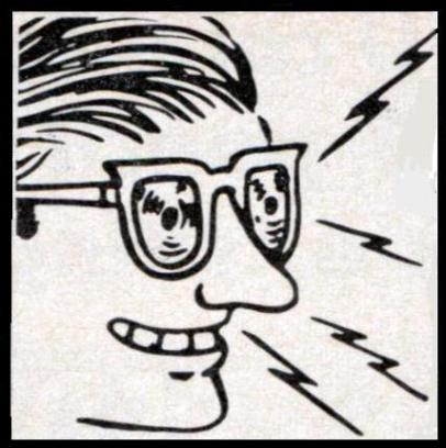 x-ray specs: Don't trust your senses in the end times.