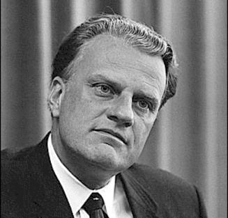 Counterfeit Christian Billy Graham: Poseur
