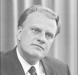 Counterfeit Christian Billy Graham: Poseur