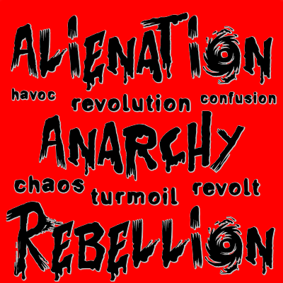 Anarchy, rebellion and Chaos
