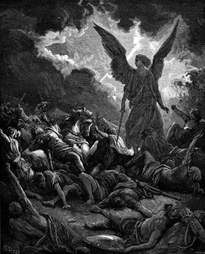 God is a man of war: Angel of God