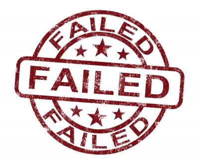 Man's Many failures