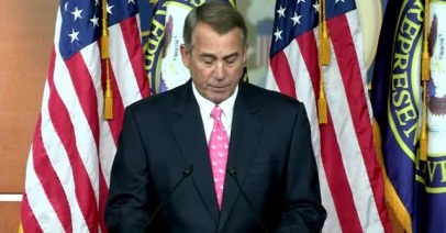John Boehner: the faces change but nothing else does