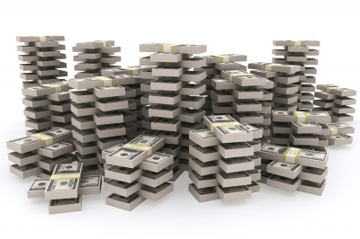 CASH - stacks of cash