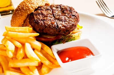 hamburger, frast food