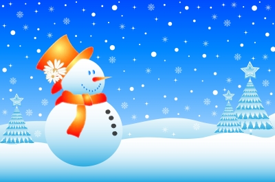 snowman-freezing