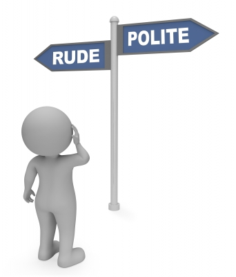Modern Manners: Rude or Polite?