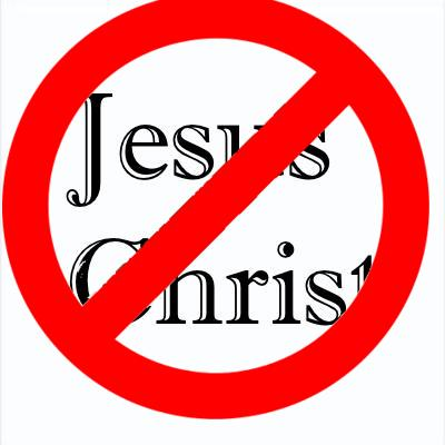 They refuse to speak the name of Jesus Christ.