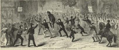 The Whiskey Rebellion of 1791