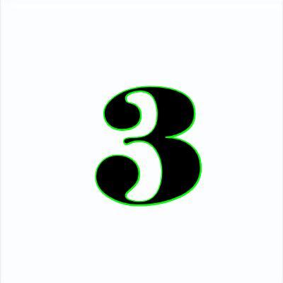 3- Three