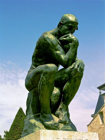 Rodin's The Thinker - Musings