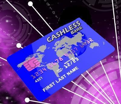 CASHLESS credit card