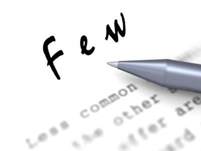 FEW: How few are few?