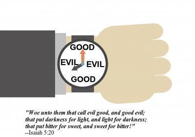 good evil; evil good