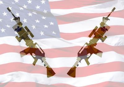 American scenario: gun control