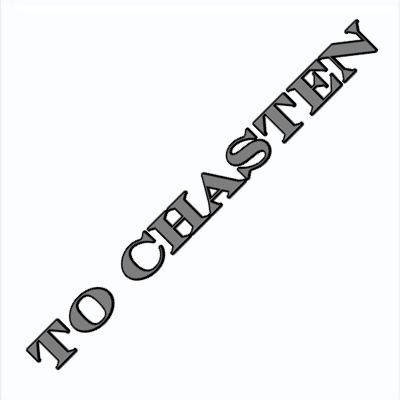 to chasten