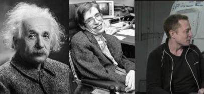 inventions of iniquity: Einstein, Hawking, Musk
