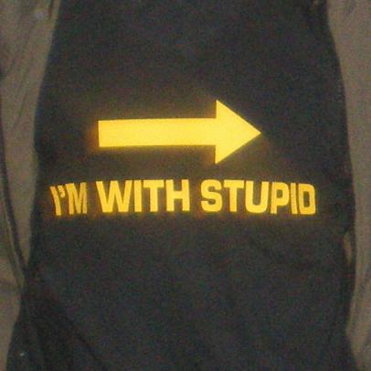 obtuse, stupid