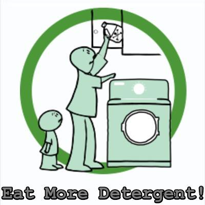 eating detergent