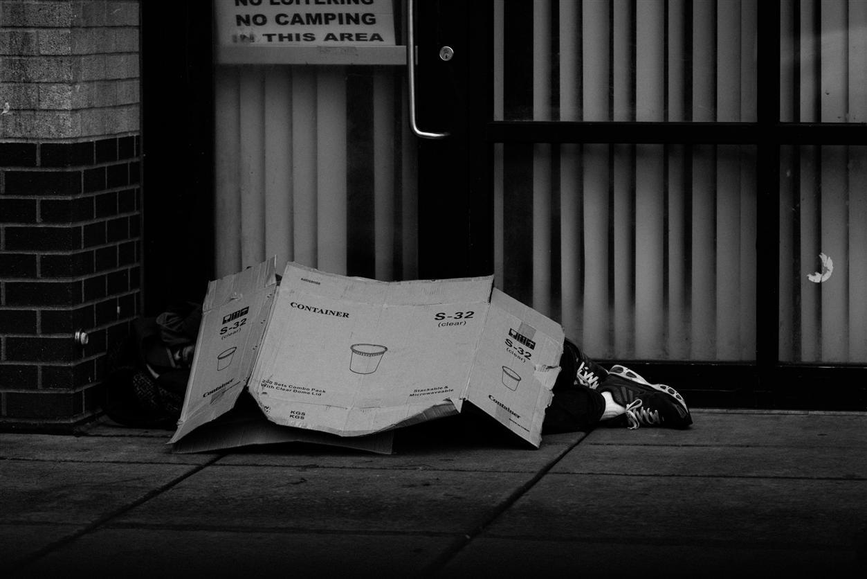 Homelessness, poverty